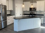 Modern cabinets with crown moulding