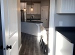 laundry room to kitchen